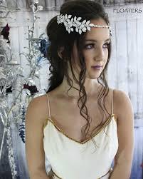 bohemian hair accessories bridal hair wreath white flower crown bridal hair vine flower