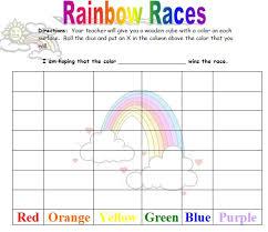 rainbow unit theme printables lessons ideas u0026