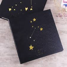 high capacity photo album diy album manual paste high quality leather photo album twelve