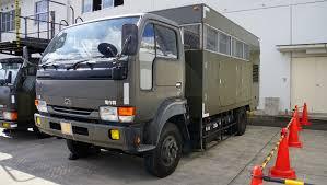 nissan truck diesel file jasdf truck stake nissan diesel condor at iruma air base