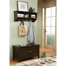 Cubby Storage Bench by Alaterra Shaker Cottage Storage Bench And Coat Rack Set Hayneedle