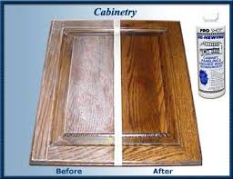 Kitchen Cabinet Cleaners Cleaning Cabinets How To Clean A With - Kitchen cabinet cleaning