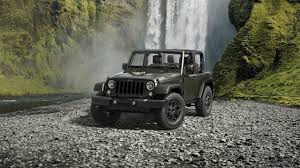 jeep lineup 2016 a look at the 2016 jeep wrangler limited edition models