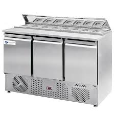 commercial pizza prep tables telescoping hood 3 door commercial pizza prep tables tt sl1365dr3k s1
