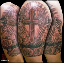 cross armband eddie loven cover up tattoomagz