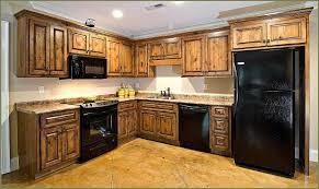 rustic hickory kitchen cabinets astonishing kitchen hickory cabinets design rustic of popular and