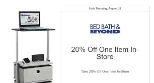 Bed Bath And Beyond Nespresso Bed Bath And Beyond 20 Off Coupon Code August 2017