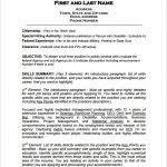 Federal Resume Templates Examples Of Targeted Resumes Resume Samples Homework Now Ssds