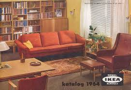 old ikea catalog how the perfect home looked from 1951 to 2000 according to vintage