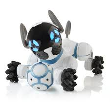 amazon com wowwee chip robot toy dog white toys u0026 games