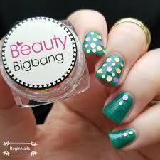 let u0027s begin nails beauty big bang mixed round glitter art