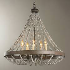 French Wire Chandelier Rustic Wooden U0026 Wrought Iron Chandeliers Shades Of Light