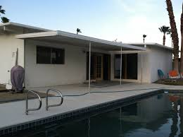 Awning Aluminum Patio Metal Patio Awning Aluminum With Inground Swimming Pool In
