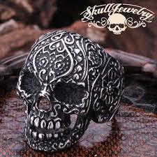 sugar skulls for sale badass skull rings skulljewelry american owned
