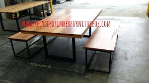 dining table bench seat dimensions timber with seats sydney nz