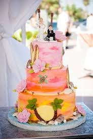 tropical themed wedding 17 tropical wedding cakes for summer weddings