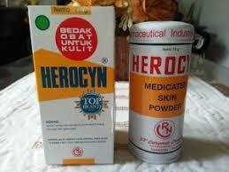 Bedak Gatal atasi gatal dan biang keringat dengan herocyn bedak obat