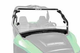 wildcat trail sport flip up windshield