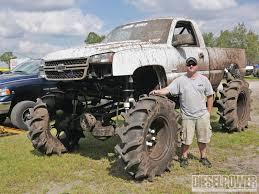 monster mud truck videos milkman 2007 chevy hd diesel power magazine
