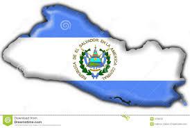 Flag El Salvador El Salvador Button Flag Map Shape Stock Illustration Image 4758787
