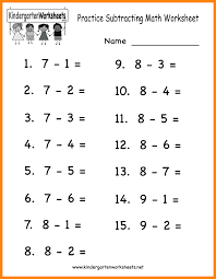 4 math subtraction worksheets liquor samples