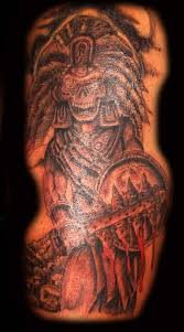 aztec tattoo art and designs page 2