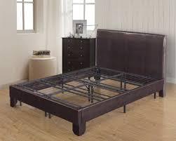 kings brand metal bi fold platform bed frame base mattress