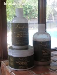 shea moisture thickening and anti breakage line for thin hair