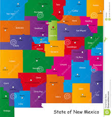 Nm State Map New Mexico County Seats Map Wiring Free Printable Images World Maps