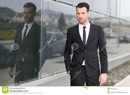 young businessman near a office building stock photo image 40686689