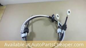 2004 2007 saturn vue manual transmission shift cable set genuine