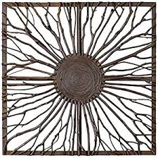 Uttermost Home Decor Amazon Com Uttermost Josiah Square Home Decor Wall Sculptures