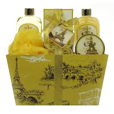 Bath And Shower Gift Sets Amazon Com Spa Gift Basket Spa Basket With Lavender Fragrance