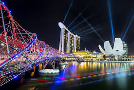 Bay Bridge Light Show Marina Bay Sands Light Show Do Check Out And Support My Fa U2026 Flickr