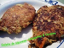 cuisiner des carottes la poele recette de galette de légumes courgettes carottes