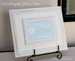 interchangeable picture frame tutorial