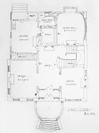 Blue Print Of A House by Architectural Documents John Ashbery U0027s Nest