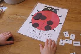 ladybug math for preschool kindergarten u0026 1st grade the