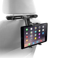 macally adjustable car seat head rest mount and holder for 7 in