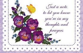 thinking of you flowers purple flowers thinking of you enrollment card enrollments