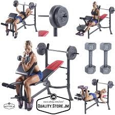 Olympic Bench Set With Weights Weight Lifting Bench Press Set Weight Lifting Bench Set Benches