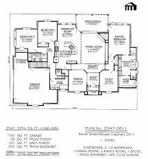 country style ranch house plans house plan fresh 2500 sq foot ranch house plans 2500 sq foot