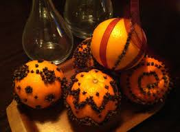 craft ideas orange clove pomanders alec