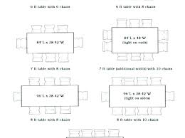 dining room table size based on room size standard dining room table size opstap info