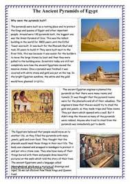 the great pyramids egypt worksheets and ancient egypt