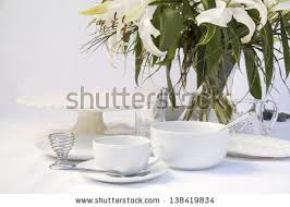 Formal Breakfast Table Setting Breakfast Table Setting Stock Images Royalty Free Images