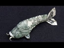 Origami Koi Fish Dollar Bill - money origami koi fish dollar bill 360皸 view