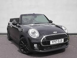 saab convertible black used mini convertible black for sale motors co uk
