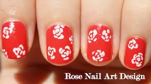 nail art 50 imposing rose nail art images inspirations nail art