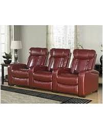 new shopping special larson leather reclining home theater